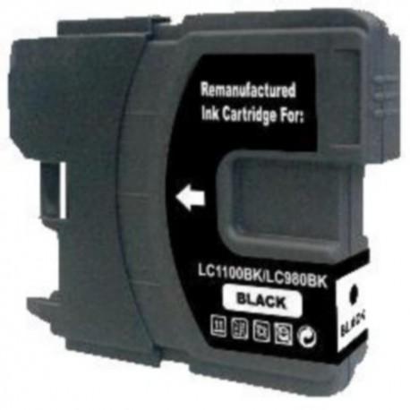 Brother LC-980/LC-1100 černá kompatibilní cartridge