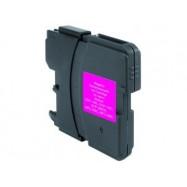 Brother LC-980/LC-1100 purpurová (magenta) kompatibilní cartridge