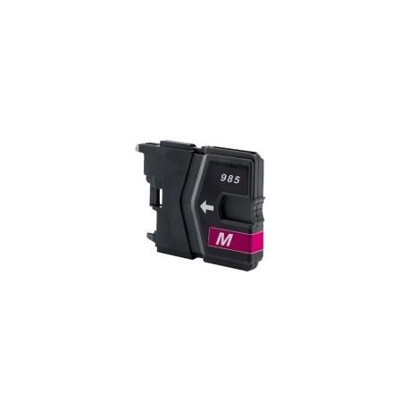 Brother LC-985 purpurová (magenta) kompatibilní cartridge