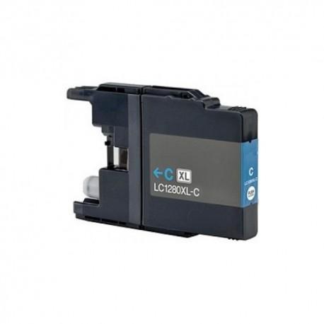 Brother LC-1280 cyan, kompatibilní cartridge