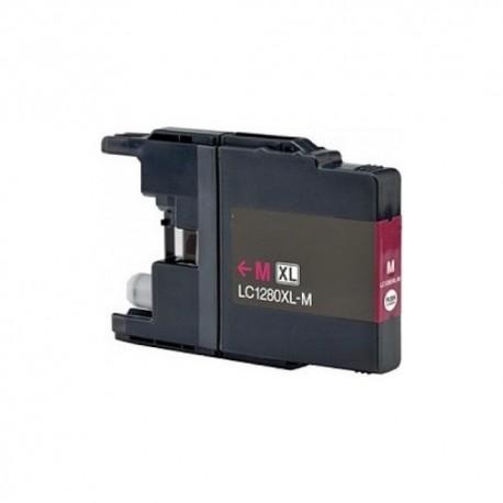 Brother LC-1280 magenta, kompatibilní cartridge