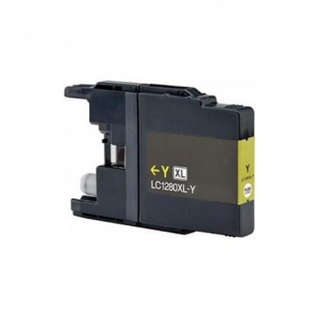 Brother LC-1280 yellow, kompatibilní cartridge