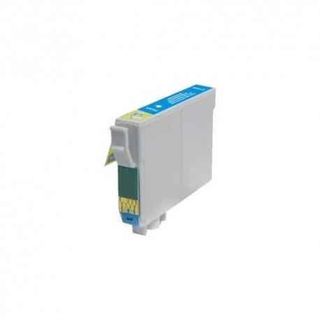Epson T0482 azurová (cyan) kompatibilní cartridge