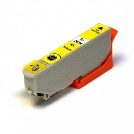 Epson T2634 XL žlutá (yellow) kompatibilní cartridge