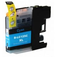 BROTHER LC-125XLC kompatibilní azurová náplň 15ml