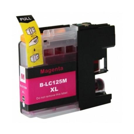 BROTHER LC-125XLM kompatibilní purpurová náplň 15ml