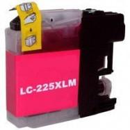 BROTHER LC-225XLM kompatibilní purpurová náplň 15ml