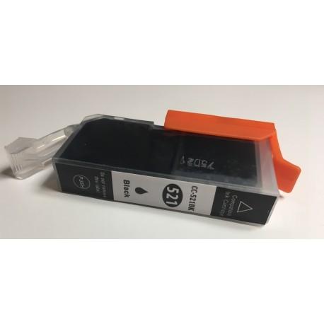 Canon CLI-521Bk černá kompatibilní cartridge