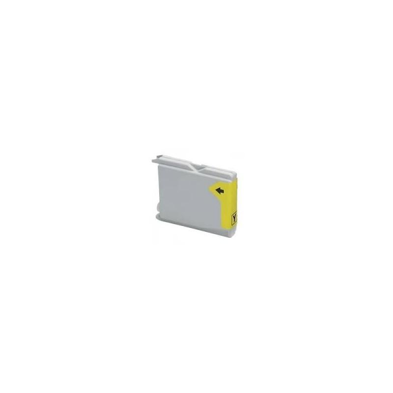 Brother LC-970 / LC-1000Y žlutá (yellow) kompatibilní cartridge