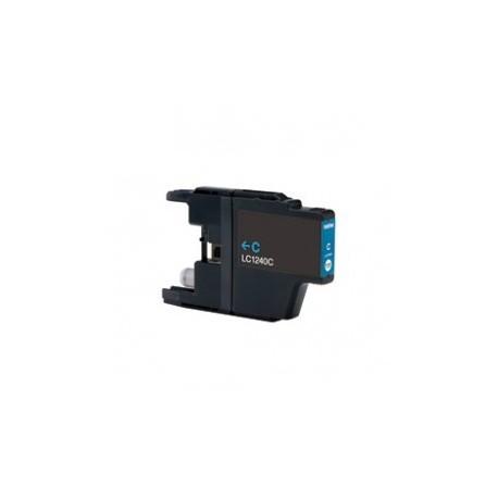 Brother LC-1240 azurová (cyan) kompatibilní cartridge
