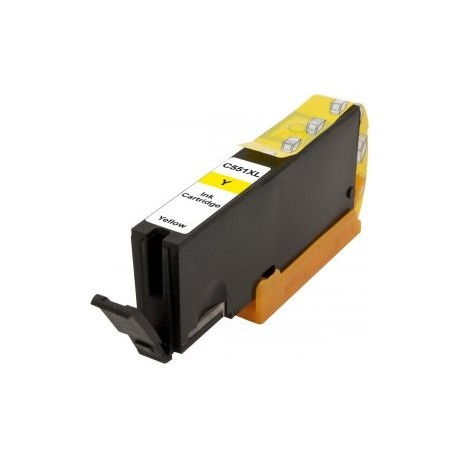 Canon CLI-551XL žlutá (yellow) kompatibilní cartridge