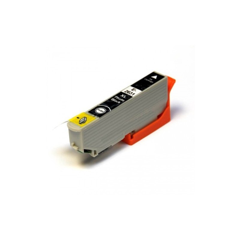 Epson T2631 XL foto černá kompatibilní cartridge