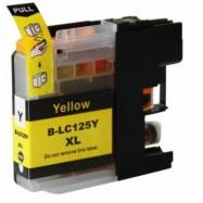 BROTHER LC-125XLY kompatibilní žlutá náplň 15ml