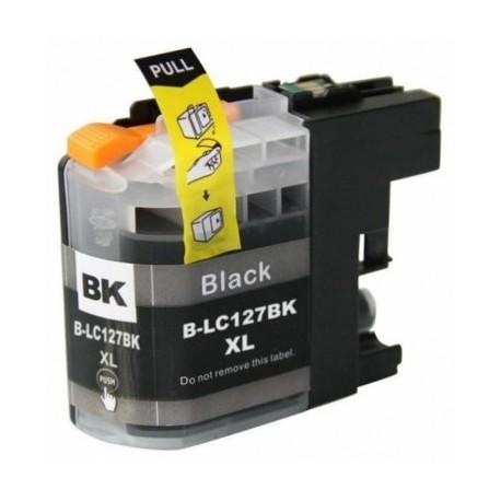 BROTHER LC-127XLBK kompatibilní černá náplň 28ml