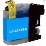 BROTHER LC-225XLC kompatibilní azurová náplň