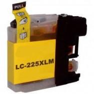 BROTHER LC-225XLY kompatibilní žlutá náplň
