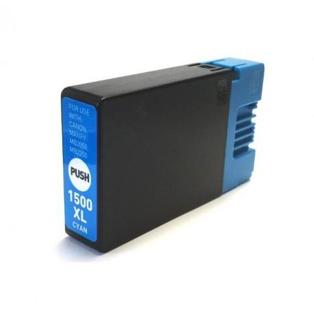 Canon PGI-1500 XL azurová kompatibilní cartridge