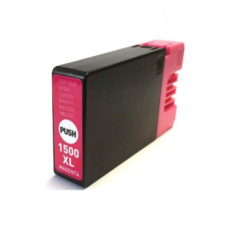Canon PGI-1500 XL purpurová kompatibilní cartridge