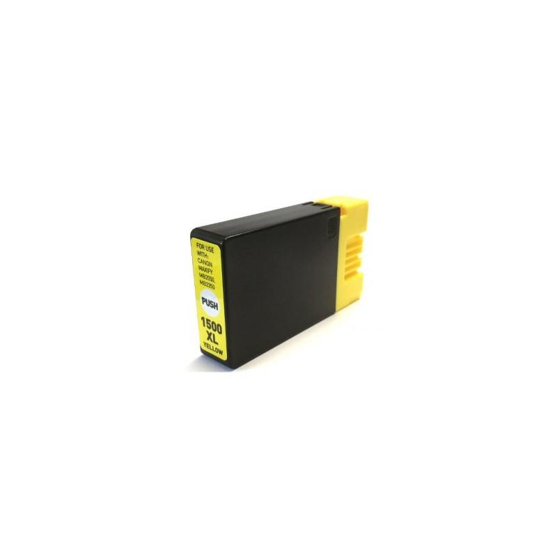 Canon PGI-1500 XL žlutá kompatibilní cartridge