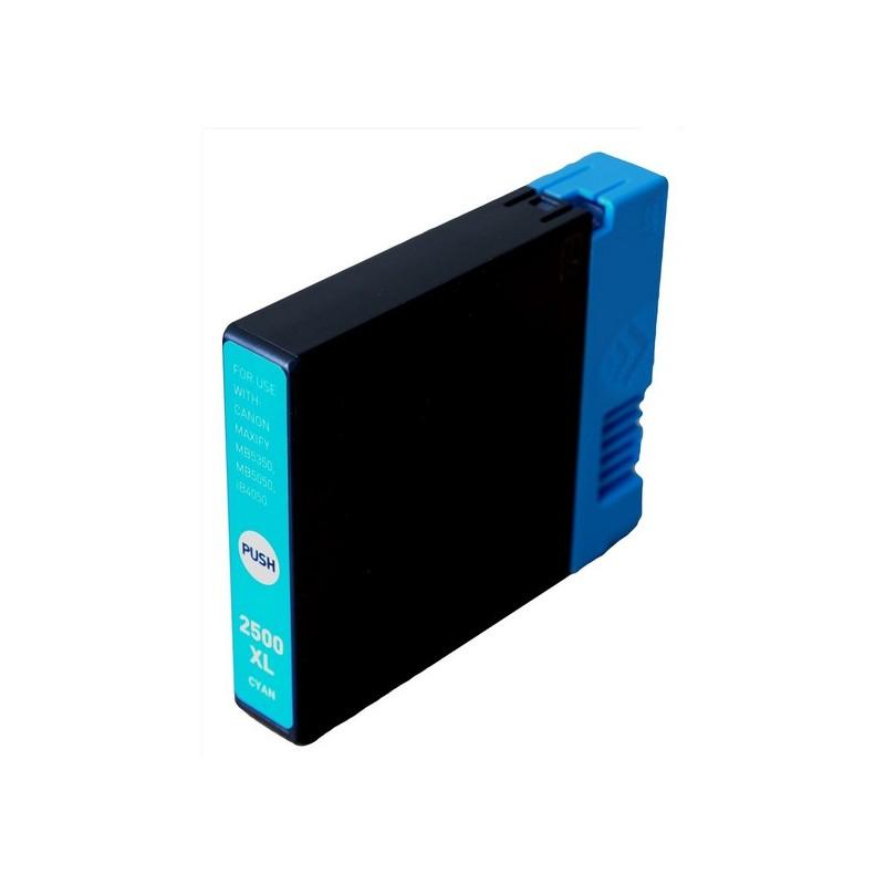 Canon PGI-2500 XL azurová kompatibilní cartridge