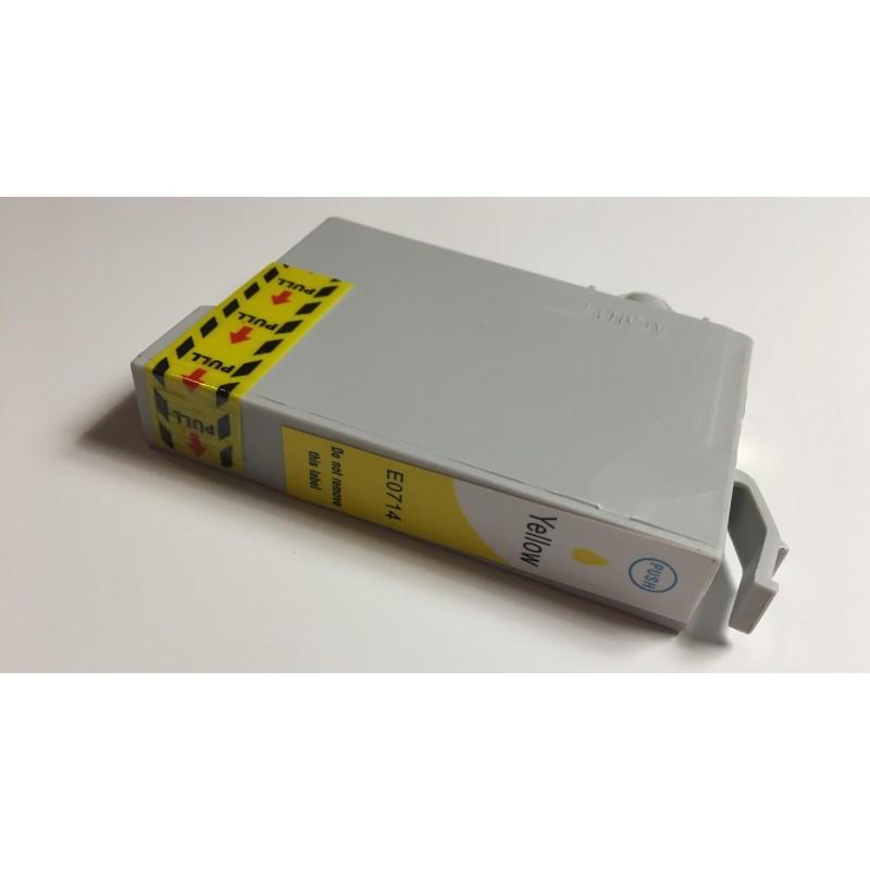 Epson T0714 žlutá (yellow) kompatibilní cartridge