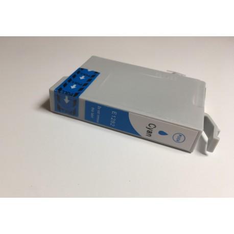 Epson T1282 azurová (cyan) kompatibilní cartridge