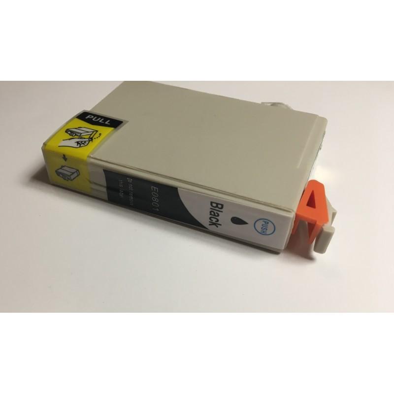 Epson T0801 černá kompatibilní cartridge