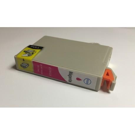 Epson T0803 purpurová (magenta) kompatibilní cartridge