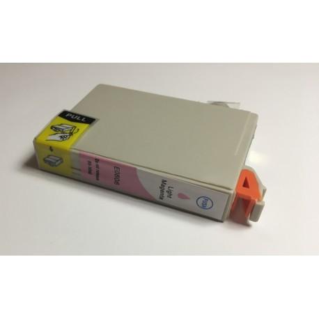 Epson T0806 světle purpurová (light magenta) kompatibilní cartridge