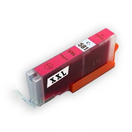 Canon CLI-581XXL purpurová (magenta) kompatibilní cartridge