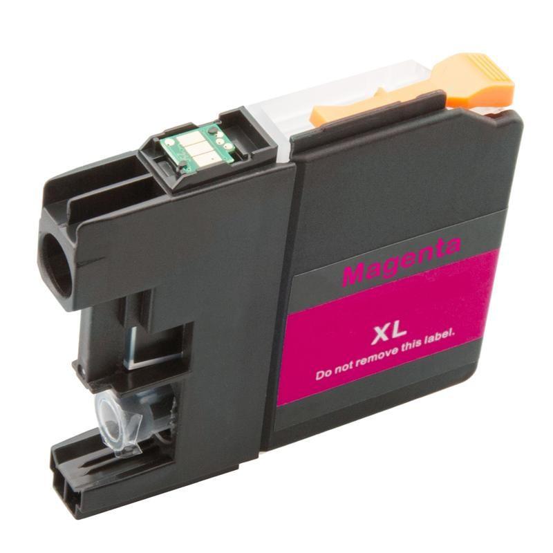 Brother LC-3219XLM (LC-3219M, LC-3217, LC-3217M) červená (magenta) - kompatibilní inkoustová náplň (cartridge)