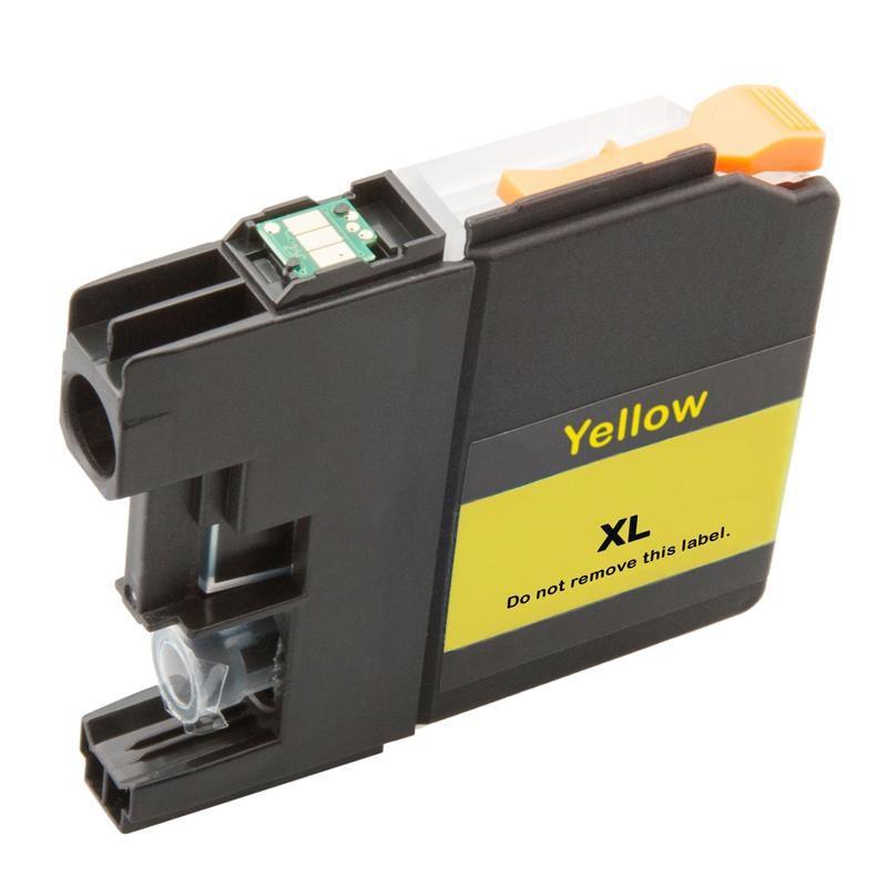 Brother LC-3219XLY (LC-3219Y, LC-3217, LC-3217Y) žlutá (yellow) - kompatibilní inkoustová náplň (cartridge)