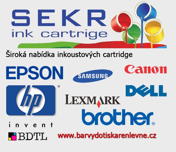 Široká nabídka inkoustových cartridge